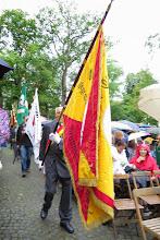 Photo: Fahne des Glatzer Gebirgs-Vereins im Fahneneinzug zum Festgottesdienst der 68. Jahreswallfahrt der Grafschaft Glatz zur Gnadenmutter von Telgte