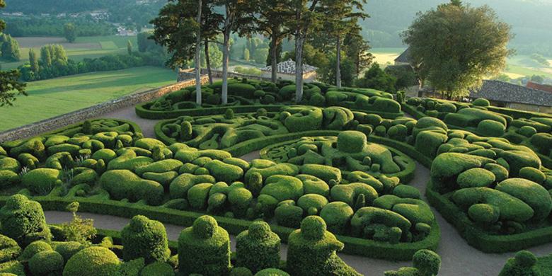 Photo: Сады Marqueyssac, Франция