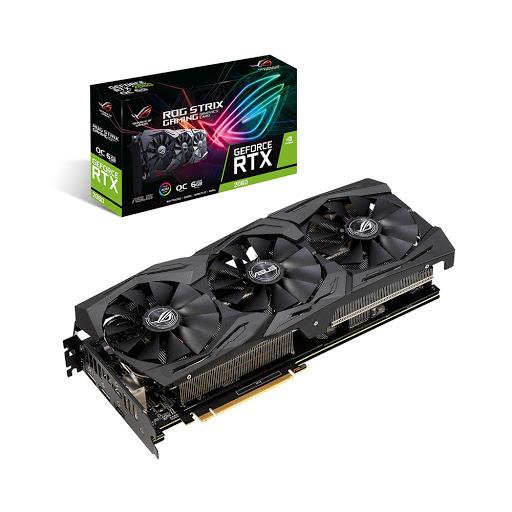 Card màn hình/ VGA Asus ROG Strix RTX 2060 OC 6GB GDDR6 (ROG-STRIX-RTX2060-O6G-GAMING)
