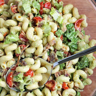 Avocado BLT Pasta Salad.