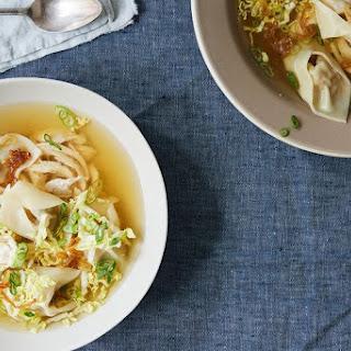 Pancit Molo (Filipino Pork Dumpling Soup).