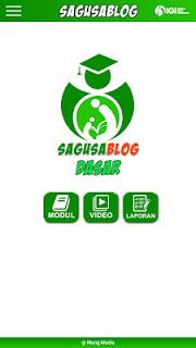 Aplikasi Panduan Membuat Blog