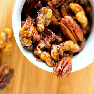 Sweet and Spicy Mixed Nuts.
