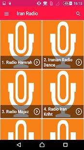 رادیو ایران - Iran Radio - náhled