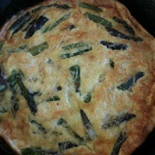 Asparagus and Wild Leek Tart With Goat Cheese