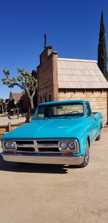 68 GMC Super Custom Hire California