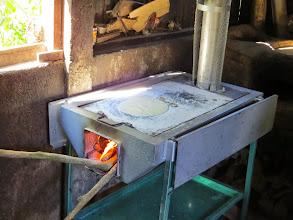Photo: Tortillas on the comal.
