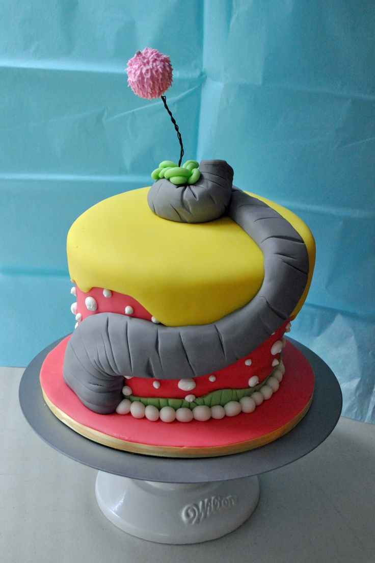 "Dr. Suess Cake - Inspired by the book, ""Horton Hears a Who"""