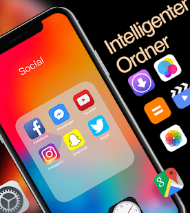 XS Launcher Prime | Stylisches OS Theme Phone max Screenshot
