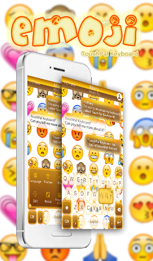 TouchPal Emoji Keyboard Theme