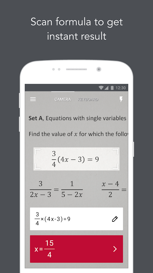 Photomath - Camera Calculator - Android Apps on Google Play