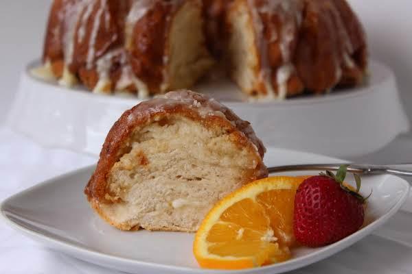 Marmalade Cream Cheese Coffee Cake