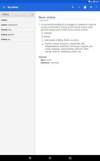 Dictionary - WordWeb screenshot 7