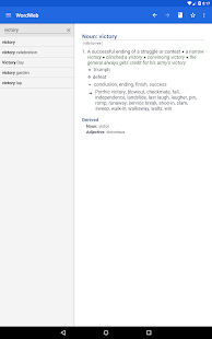 Dictionary - WordWeb Screenshot