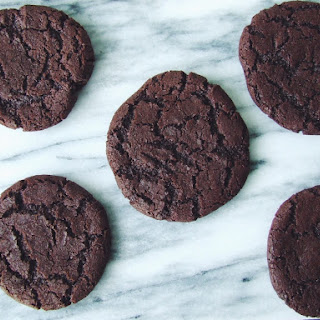 Salted Roasted Cocoa Cookies.