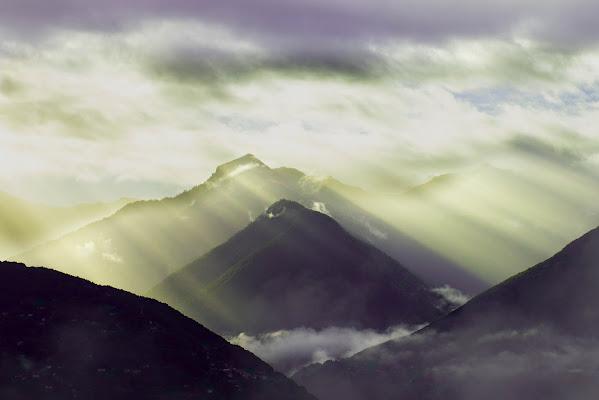 Raggi di luce tra la nebbia di Sandro Casagrande