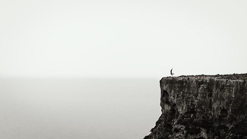 Il salto di Sergio Rapagnà