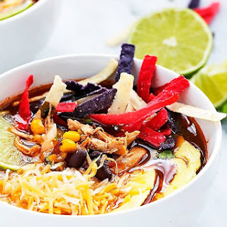 Chicken Tortilla Soup With Rotel Tomatoes Recipes