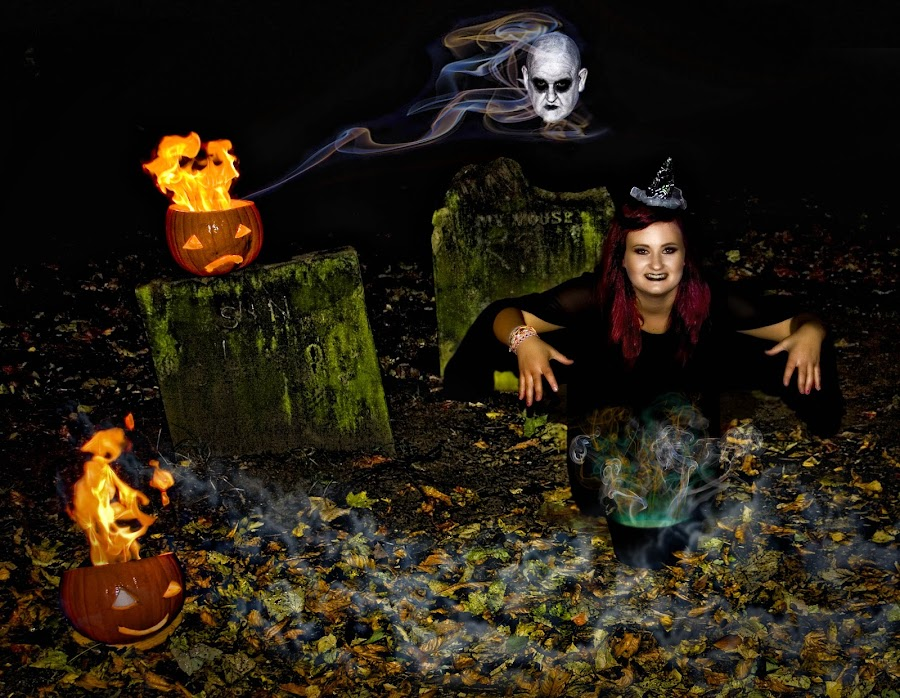 by Angie Hall - Public Holidays Halloween
