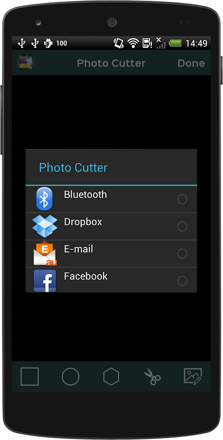 Photo Cutter- screenshot