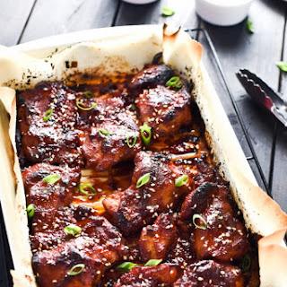 Sweet Korean Paleo Chicken Thighs