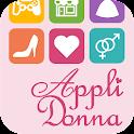 女子向けアプリ紹介-AppliDonna icon