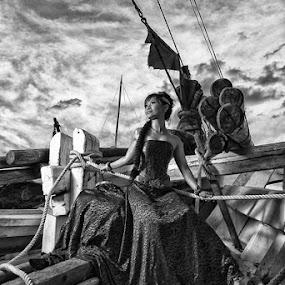 Katherine Ernawati by Teraku Nomiya - People Fine Art ( fashion, fine art, people )