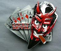 Bältesspänne Lucky Devil
