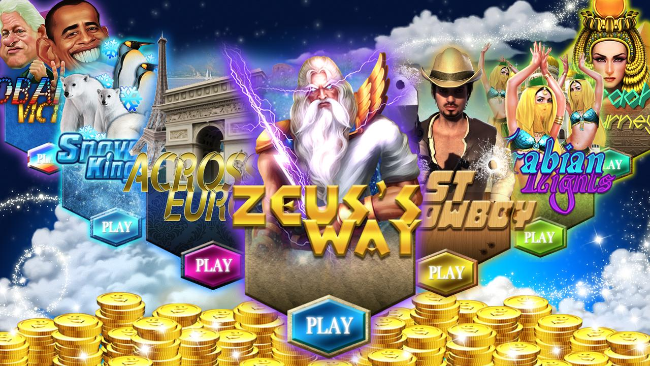 zeus free slot machine