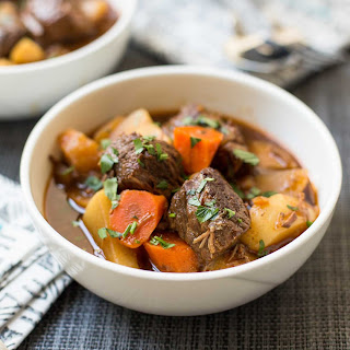 Pressure Cooker Guinness Beef Stew Recipe