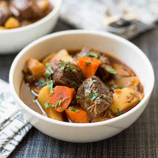 Pressure Cooker Guinness Beef Stew.