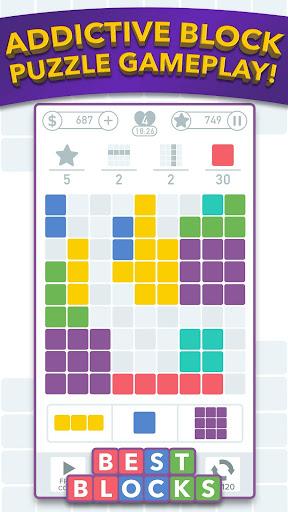 Best Blocks - Free Block Puzzle Games screenshots 1