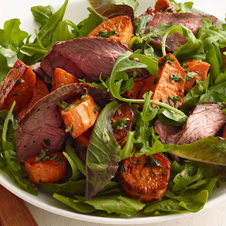 Flank Steak with Citrus Salad