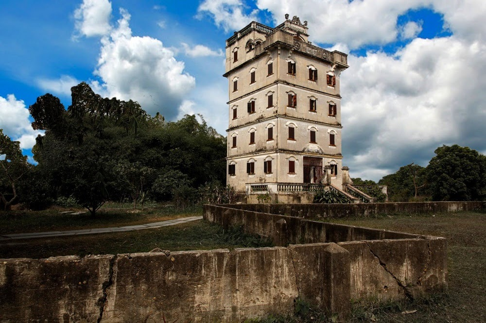 Diaolou, as torres fortificadas da China