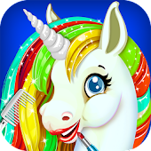 Rainbow Unicorn Makeover Salon