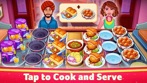 Indian Cooking Star: Chef Restaurant Cooking Games apkpoly screenshots 2