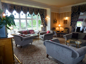 Photo: The lounge bar at the Overton Grange