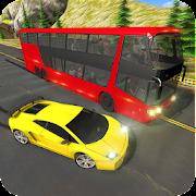 Racing In Bus: Real Highway Traffic