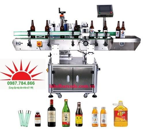 bán máy dán nhãn chai tròn giá rẻ