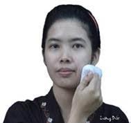 Chà khăn vùng mặt (má, mũi, miệng, mắt)