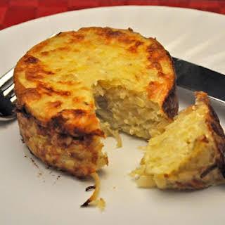 Potato and Shallot Timbales.