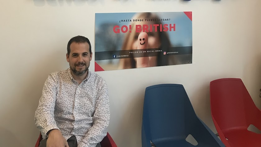 Antonio Álvarez, director de Go! British School.
