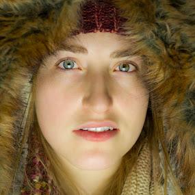 Warm Fur by Romney Olsen - People Portraits of Women ( fashion, winter, fur, new york, women )