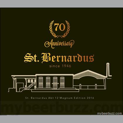 Logo of St. Bernardus St. Bernardus 70th Anniversary