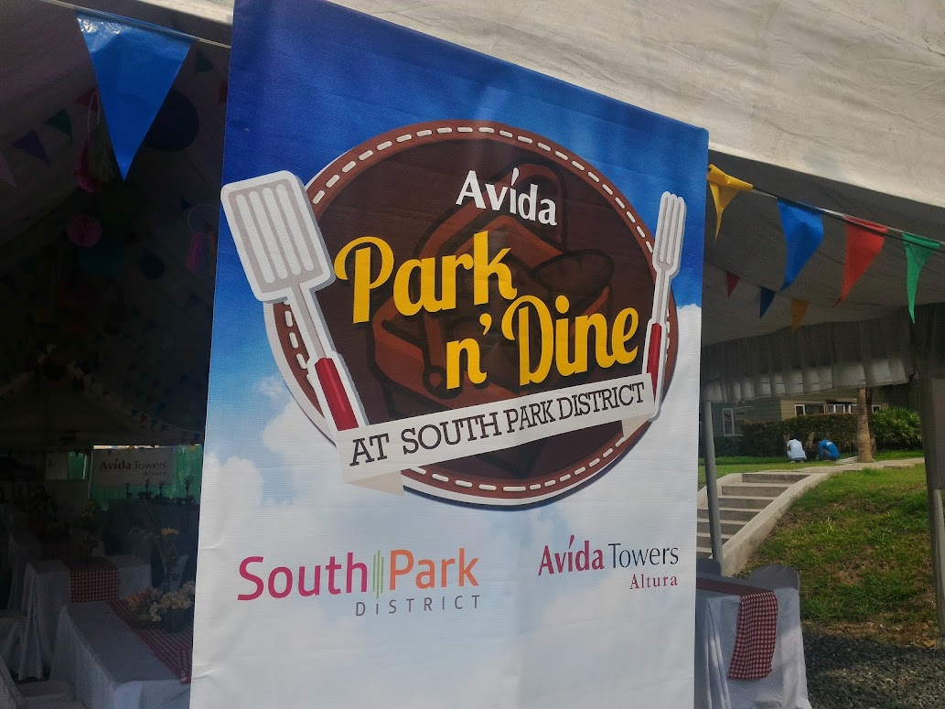 PARK N' DINE AT SOUTH PARK DISTRICT.