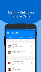 Caller ID – Phone Number Lookup, Call Blocker App Download For Android 2