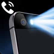فلاش  عند المكالمات والرسائل النصية القصيرة : ضوء