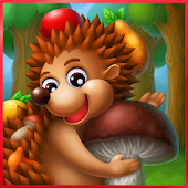 Hedgehog's Adventures: Story with Logic Games Free