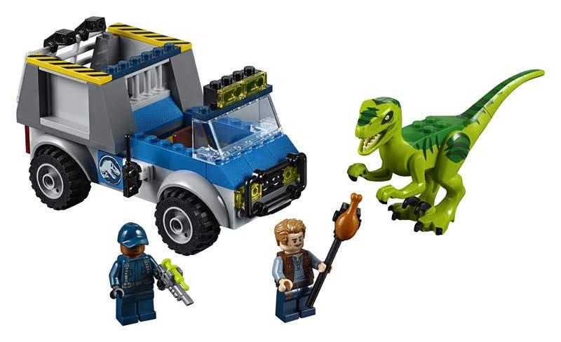 Contenido de Lego® 10757 Camión de rescate del Raptor