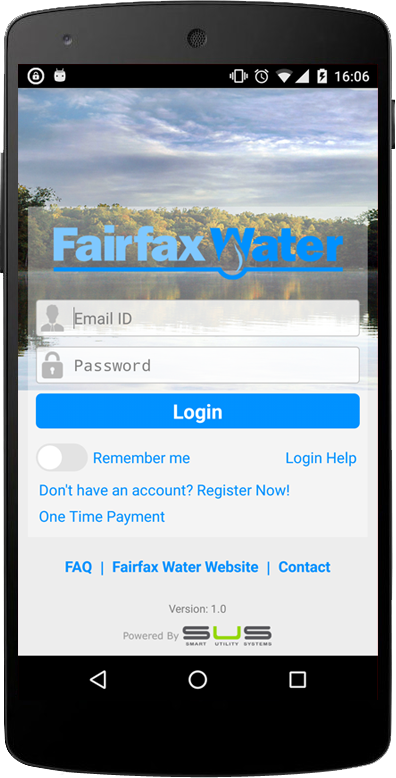 Fairfax Water- screenshot